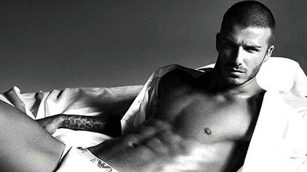 David Beckham, el padre modelo