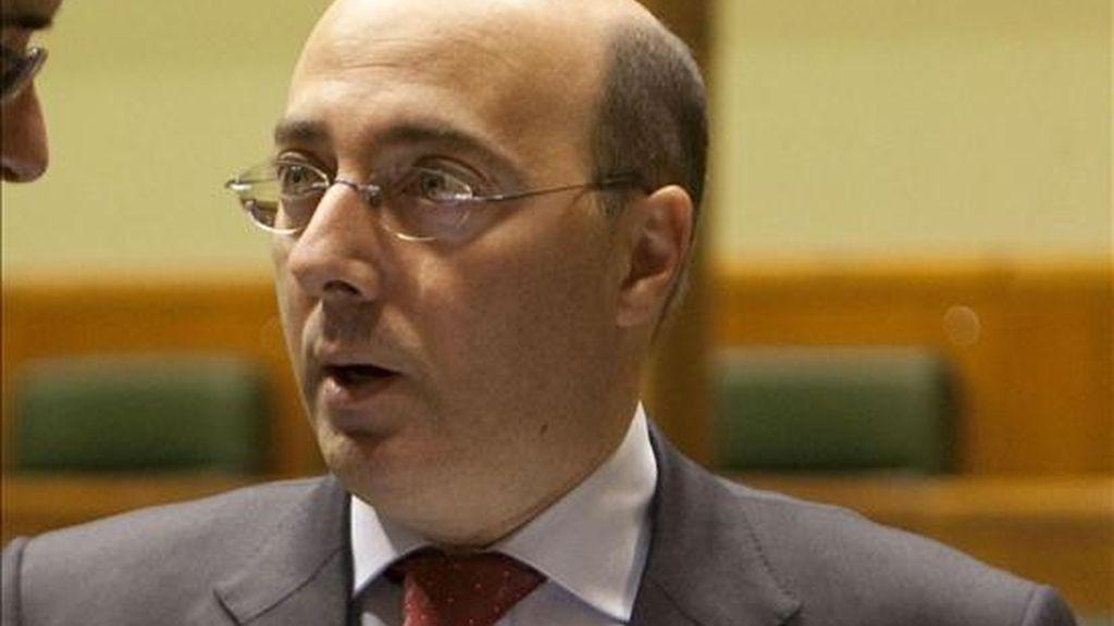 El parlamentario del PP Carlos Urquijo. EFE/Archivo