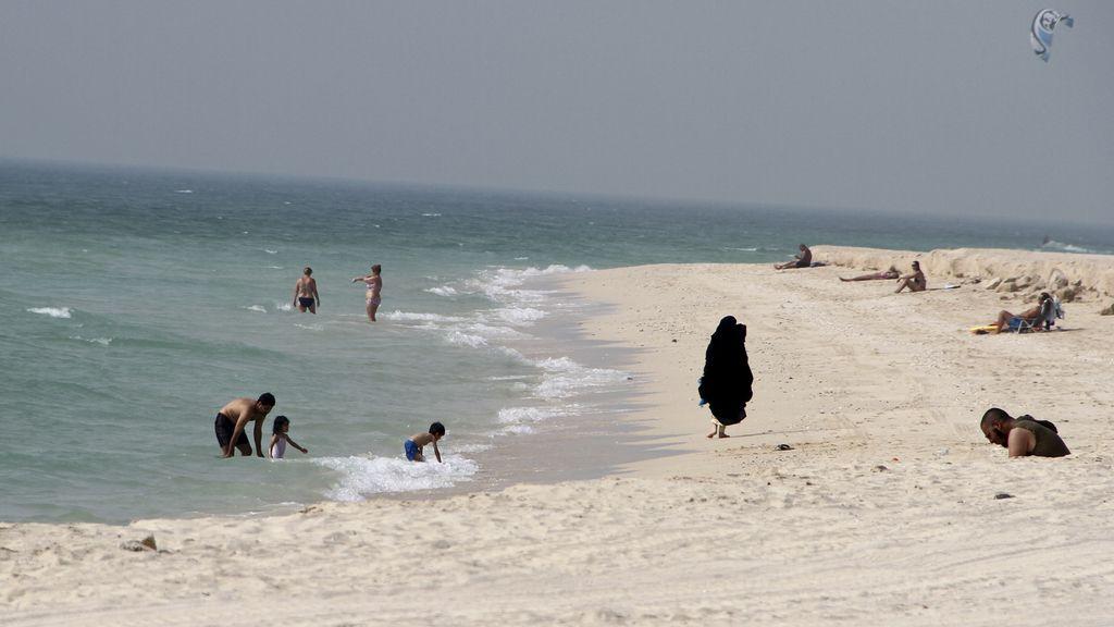 Una playa de Dubai
