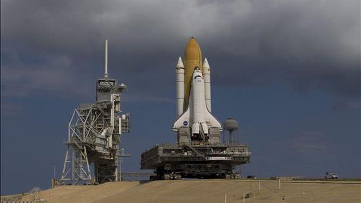 El Atlantis tendrá como objetivo instalar equipos en la parte exterior de la estación e incluirá tres caminatas durante las cuales se instalarán dos plataformas en la viga central del complejo. EFE/Archivo