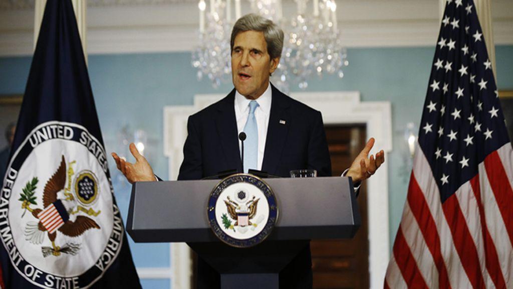 Kerry: 'El régimen de Asad tiene el mayor programa de armas químico y lo ha usado'