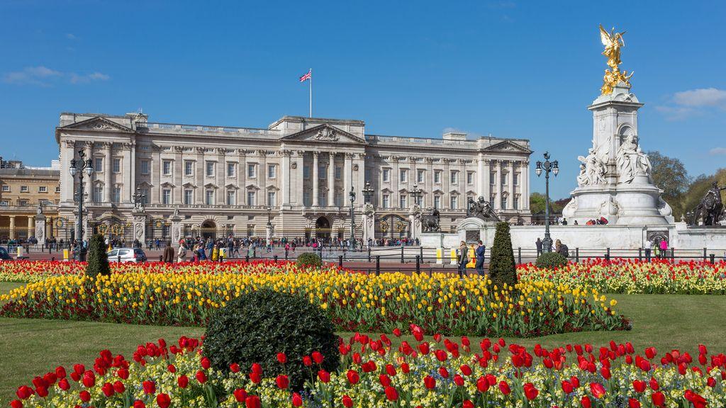 1. El Palacio de Buckingham