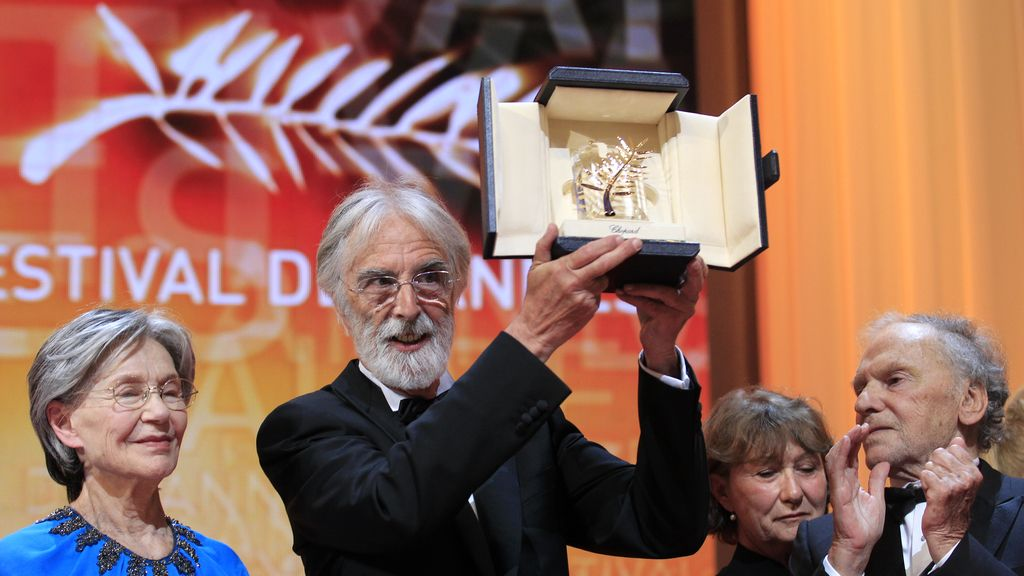 Michael Haneke, Palma de Oro al mejor director