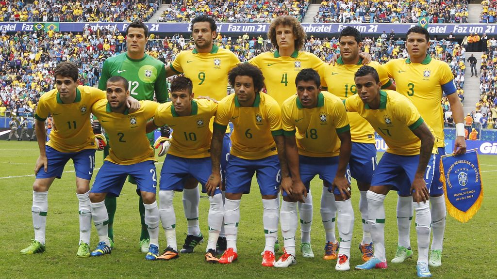 brasil, españa, futbol