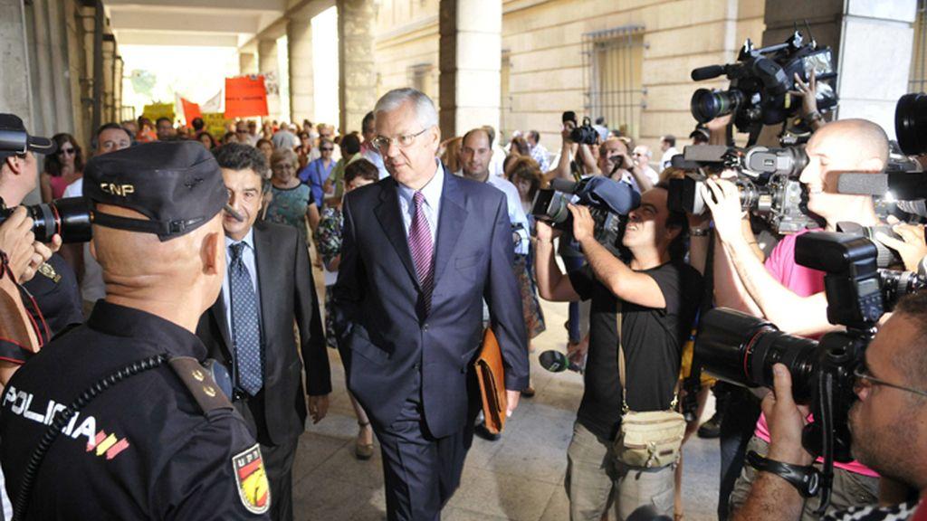 El exinterventor general de la Junta de Andalucía declara ante la juez Alaya