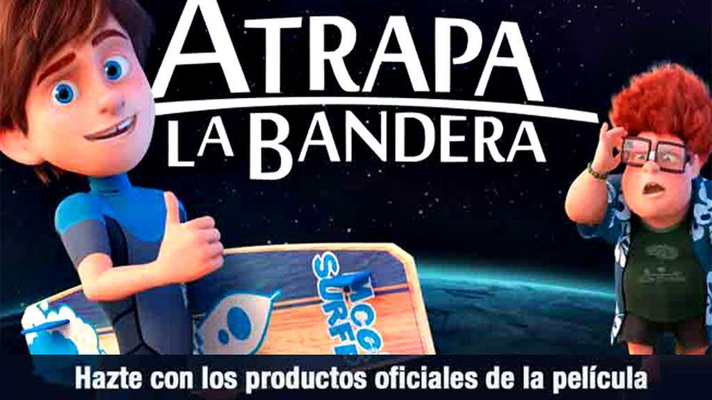 Descubre los productos oficiales de 'Atrapa la bandera', el último éxito de Taquilla