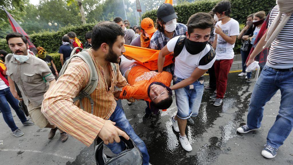 Protestas en Ankara, Turquía