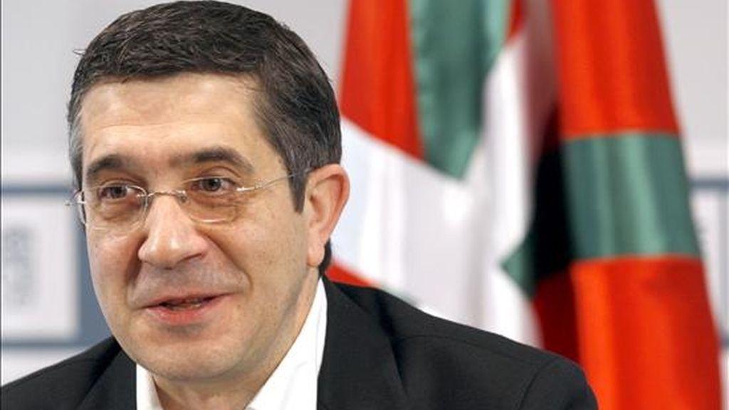 El candidato a lehendakari y secretario general del PSE-EE, Patxi López. EFE/Archivo