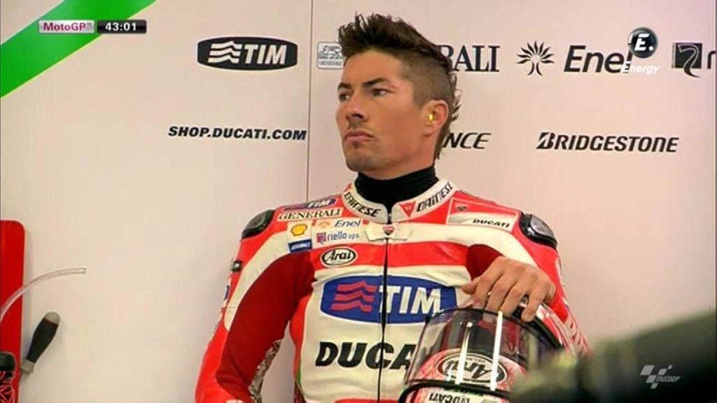 Nicky Hayden estrena cresta en el GP de San Marino