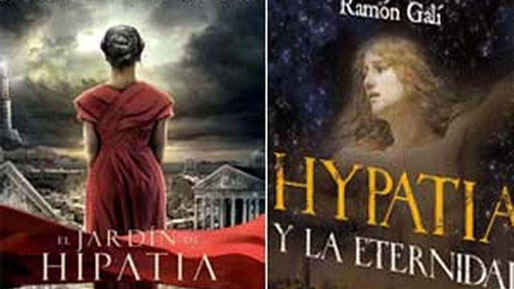 'El jardín de Hipatia' e 'Hypatia y la eternidad' abordan la figura de la protagonista de 'Àgora'.