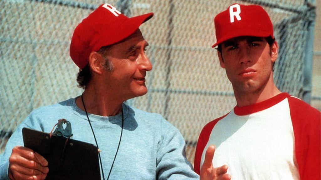Sid Caesar y John Travolta