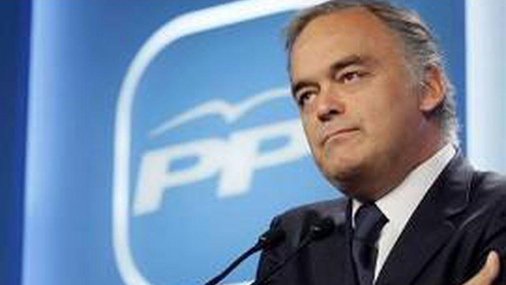 Esteban González Pons, secretario de comunicación del PP