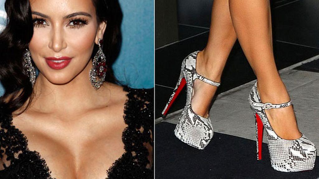 Kim Kardashian, piel de serpiente