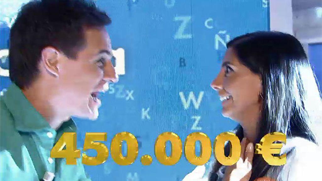 Se ha llevado 450.000 euros