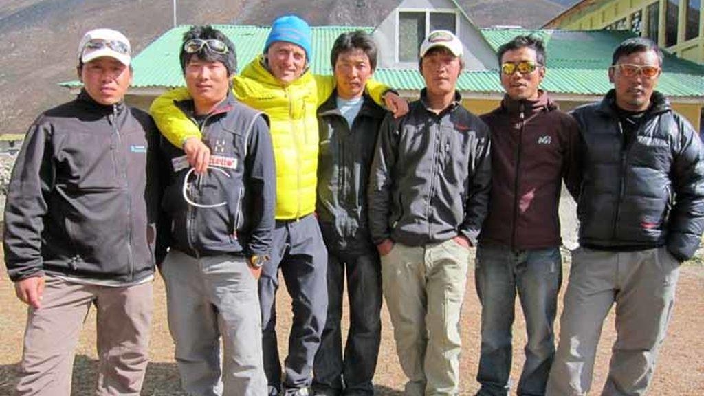 Jesús Calleja, líder del 'Desafío Everest'