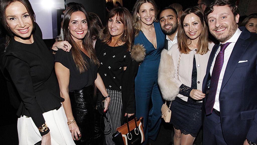 Cecilia Gómez, Magali Yus, Beatriz Cortázar, Belén Sanz, Tomás Palacios, Sonia González y Juan Peña