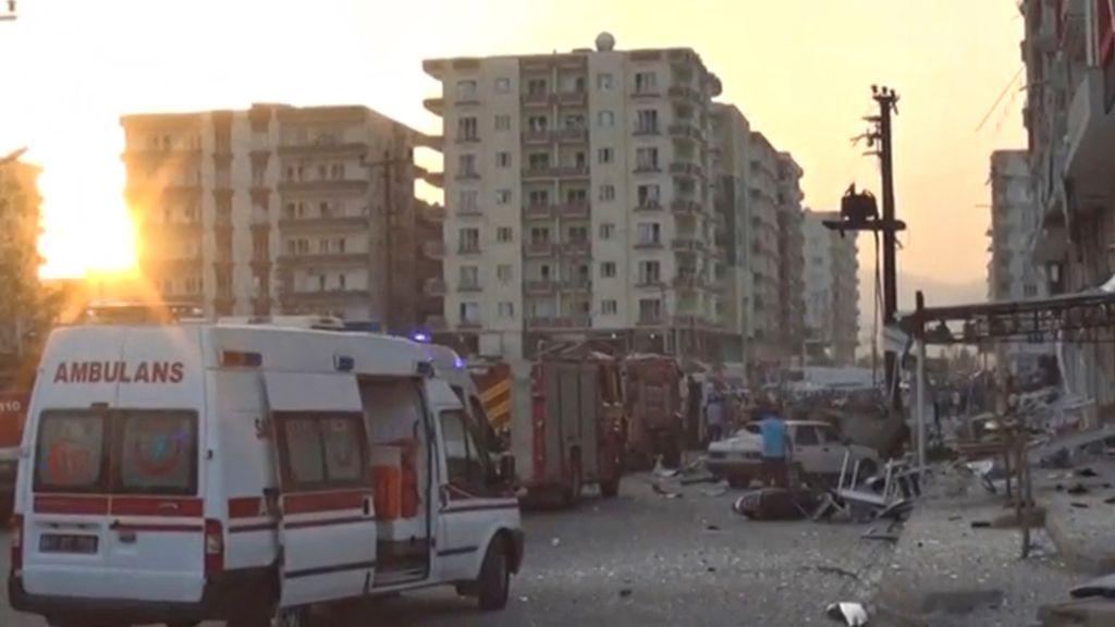 Seis muertos y cincuenta y cuatro heridos en un doble atentado en el sur de Turquía