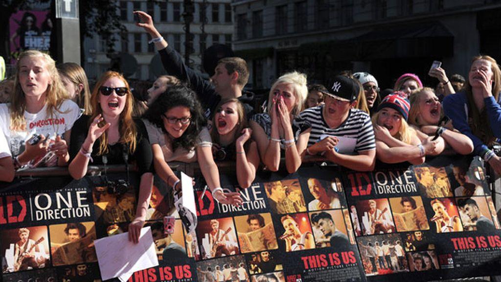"""One Direction en el estreno de """"This is Us"""""""