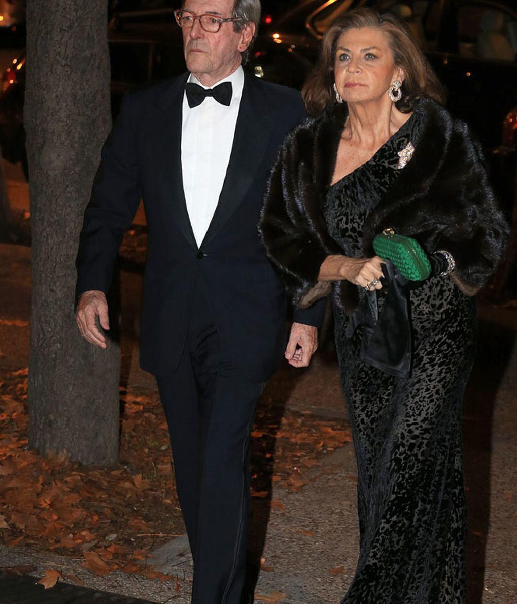 Marisa de Borbón no quiso perderse la celebración