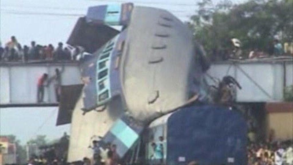 Tragedia ferroviaria en India