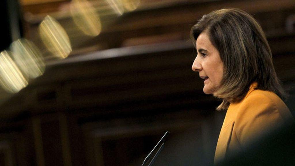 """Báñez: El decreto de pensiones servirá para que """"no se deteriore el sistema"""""""