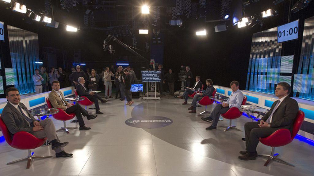 Debate electoral en Sevilla