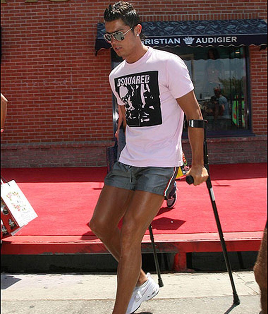 El lado rosa de Ronaldo