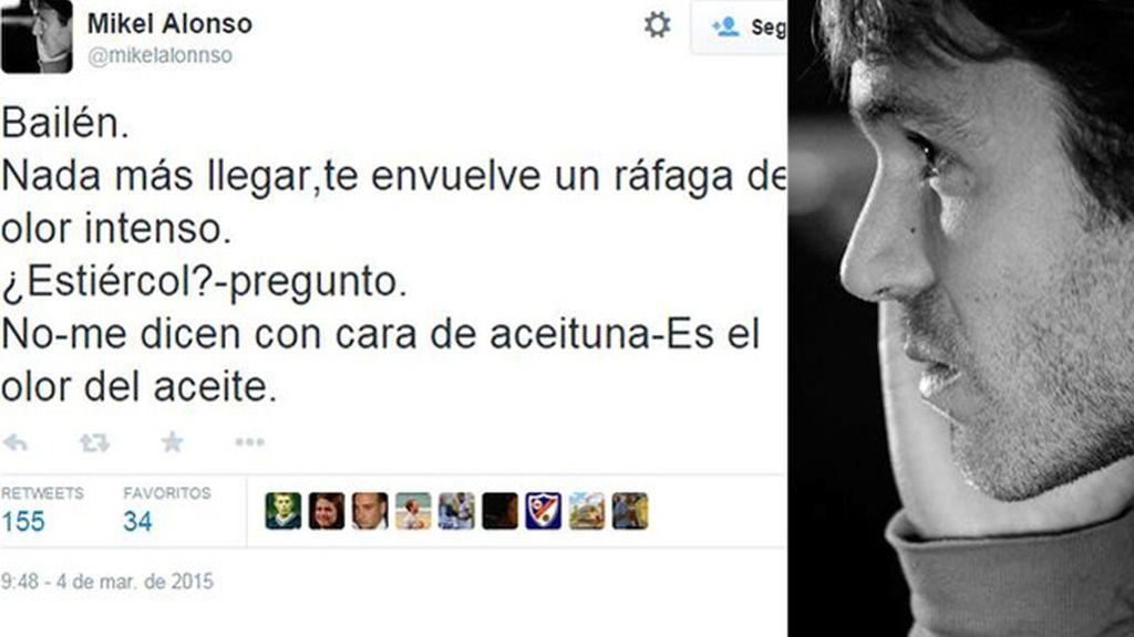 El hermano de Xabi Alonso la lía en Twitter
