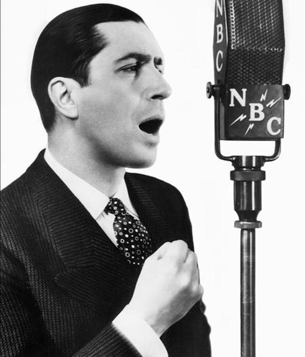El cantante argentino de tangos Carlos Gardel. EFE/Archivo