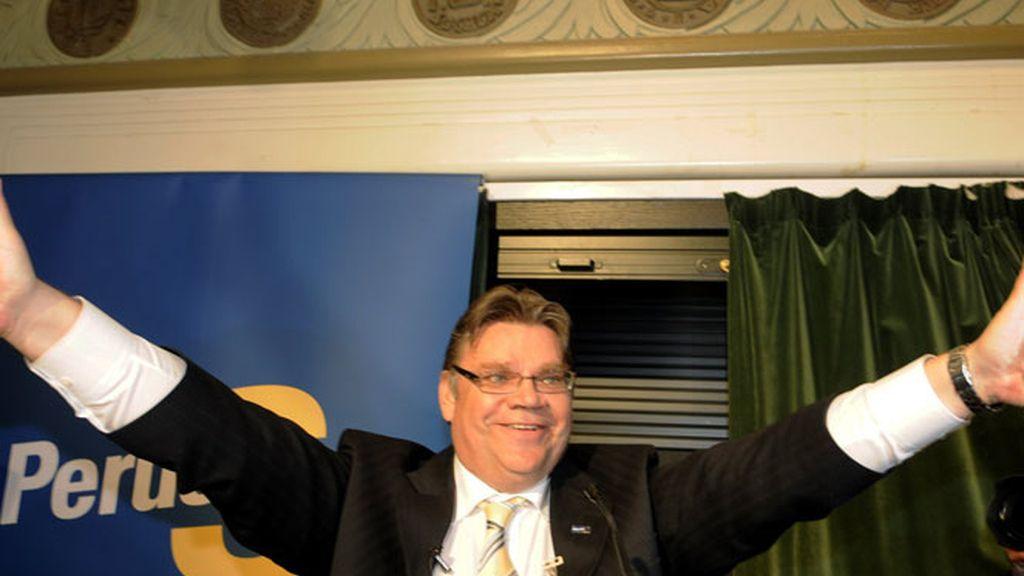El líder de la ultraderecha finlandesa, el nacionalista Timo Soini.