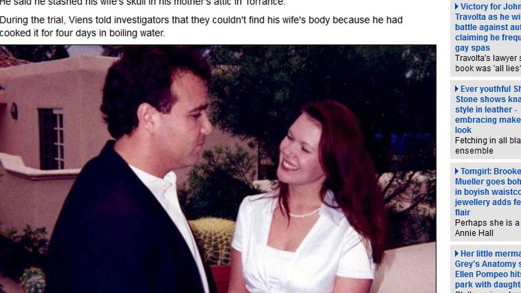 El cocinero David Viens mató y cocinó a su mujer para hacer desaparecer el cadáver