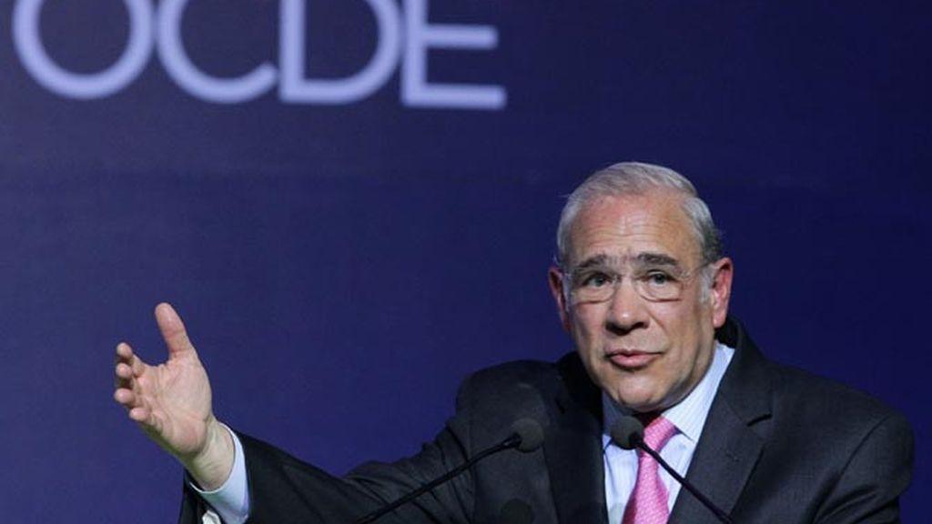 Secretario general de la OCDE, José Ángel Gurría