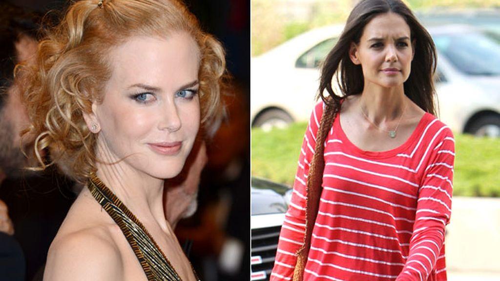 Nicole Kidman y Katie Holmes