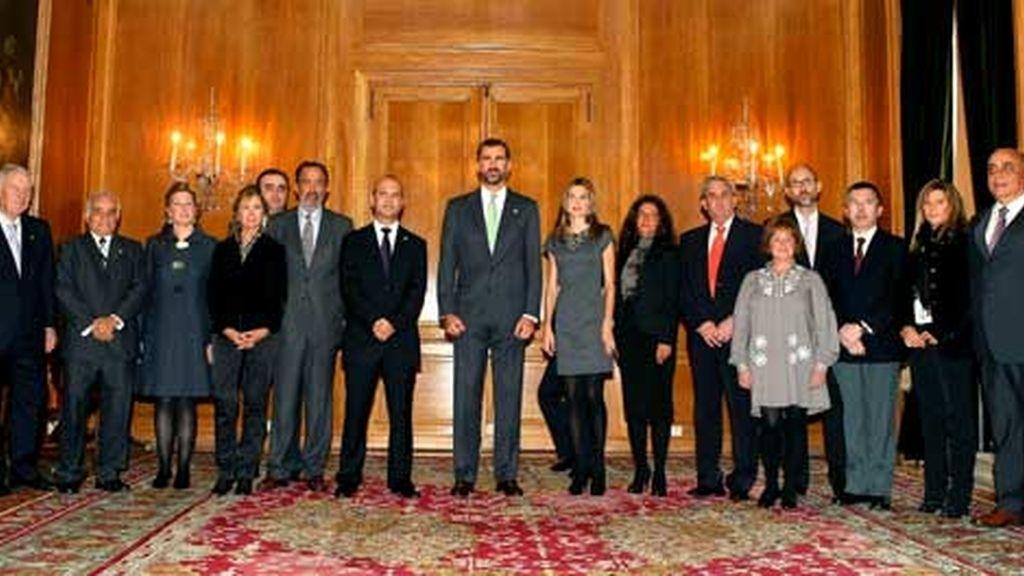 Con los miembros de la Asociación de Enfermos de Crohn y Colitis Ulcerosa ACCU Asturias