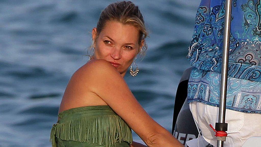 Kate Moss en Saint Tropez, top less forever!