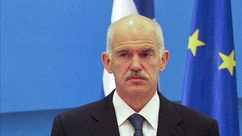 El primer ministro griego, George Papandreou. EFE/Archivo