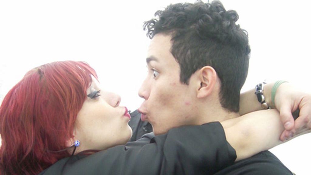 Vero y Brayan y su no beso en Bilbao
