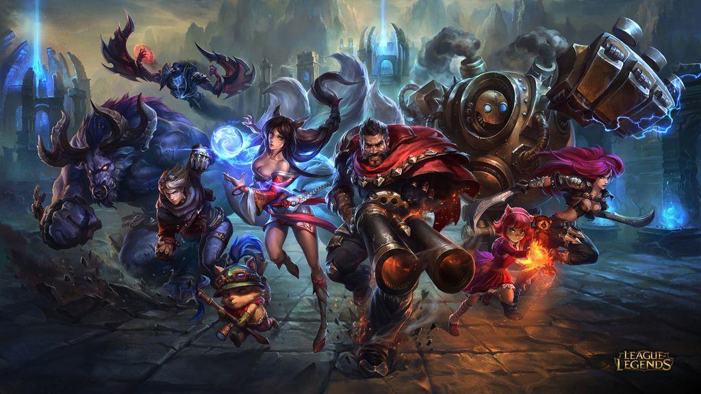 League of Legends, FF, wallpaper, genérica, lol
