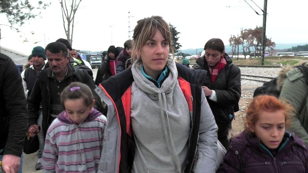 '21 días' de Lesbos a Colonia