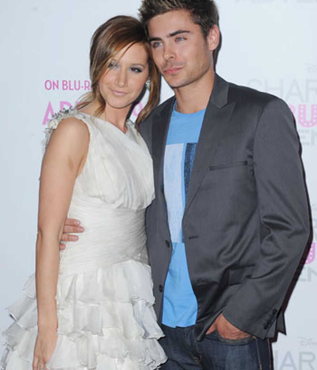 Ashley Tisdale y Zac Efron