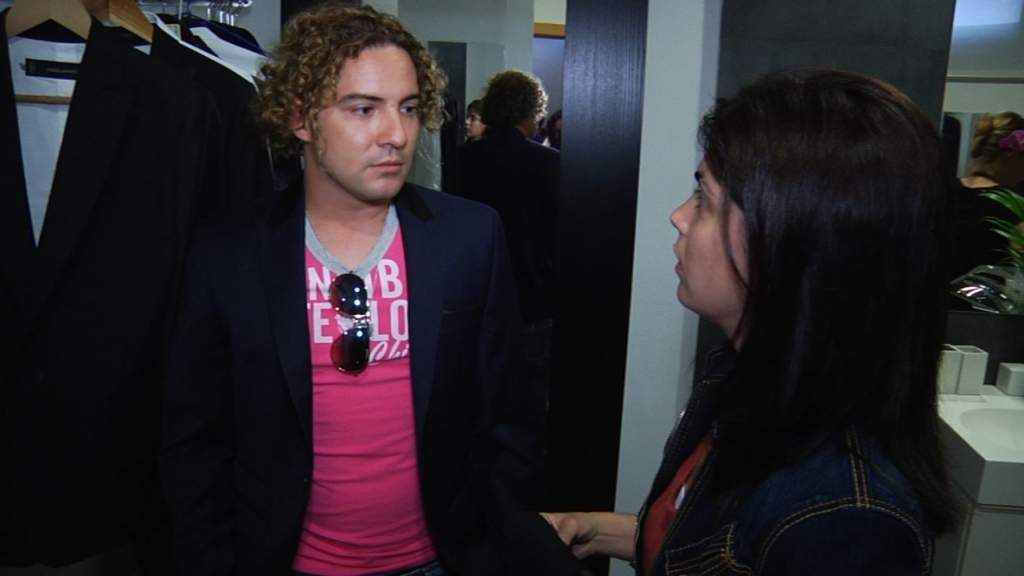Samanta y David Bisbal