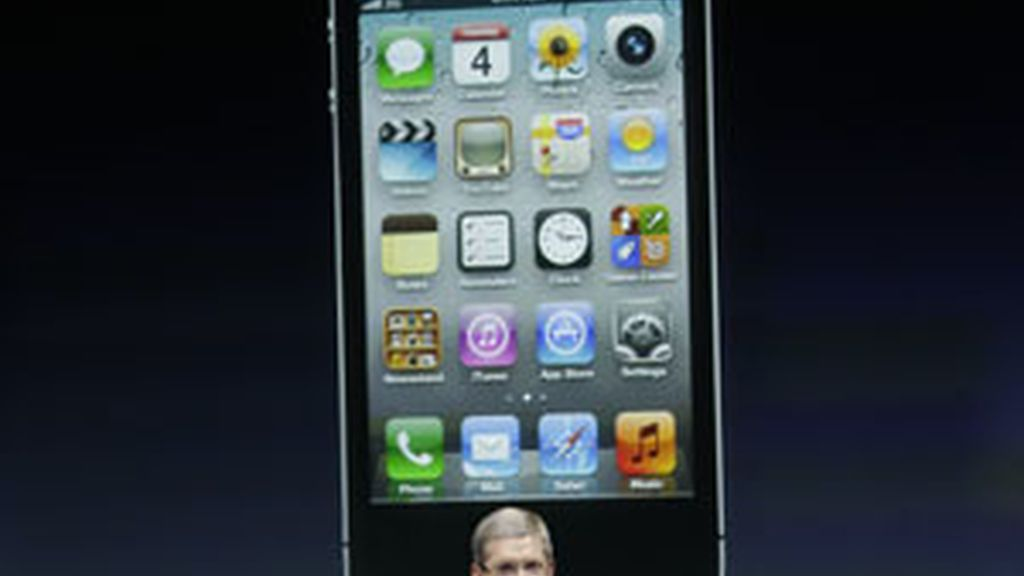 Tim Cook presenta el iPhone 4S