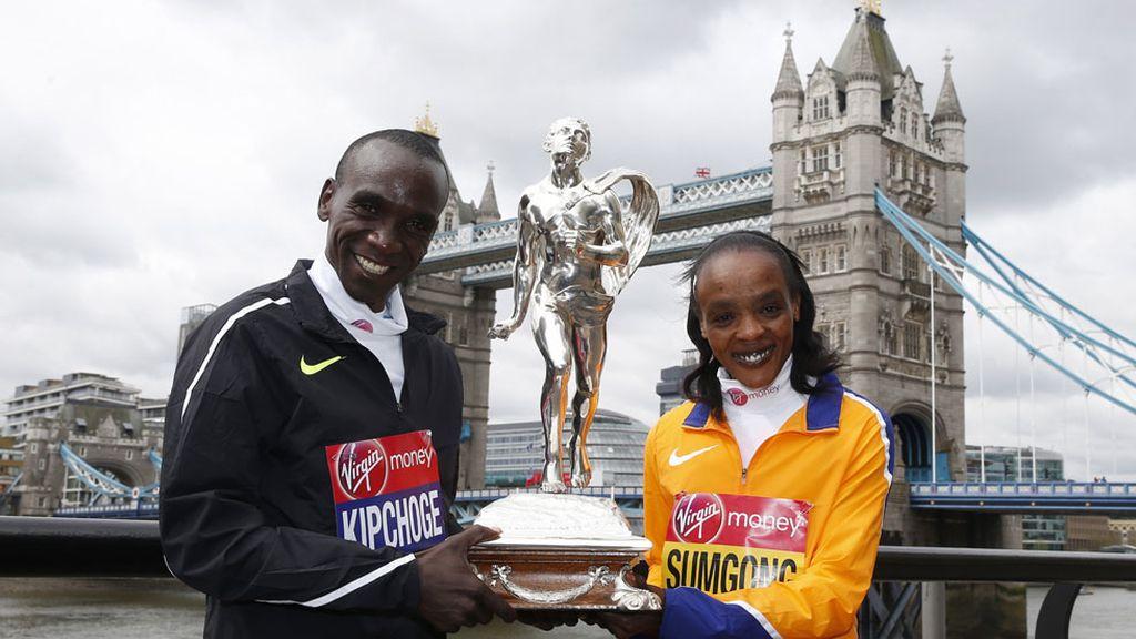 Kenia se impone en la Maratón de Londres (25/04/2016)