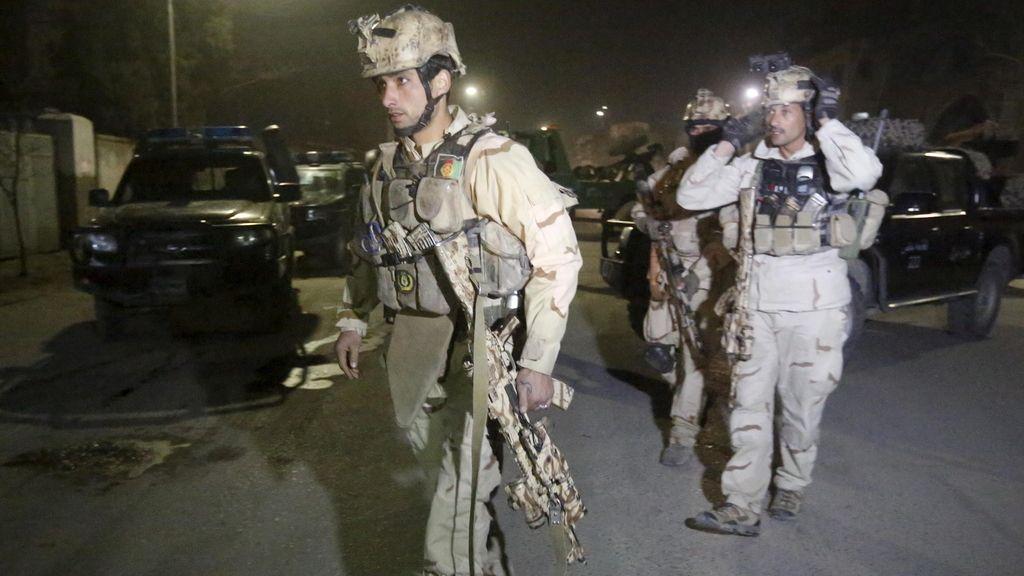 El atentado en Kabul, en imágenes