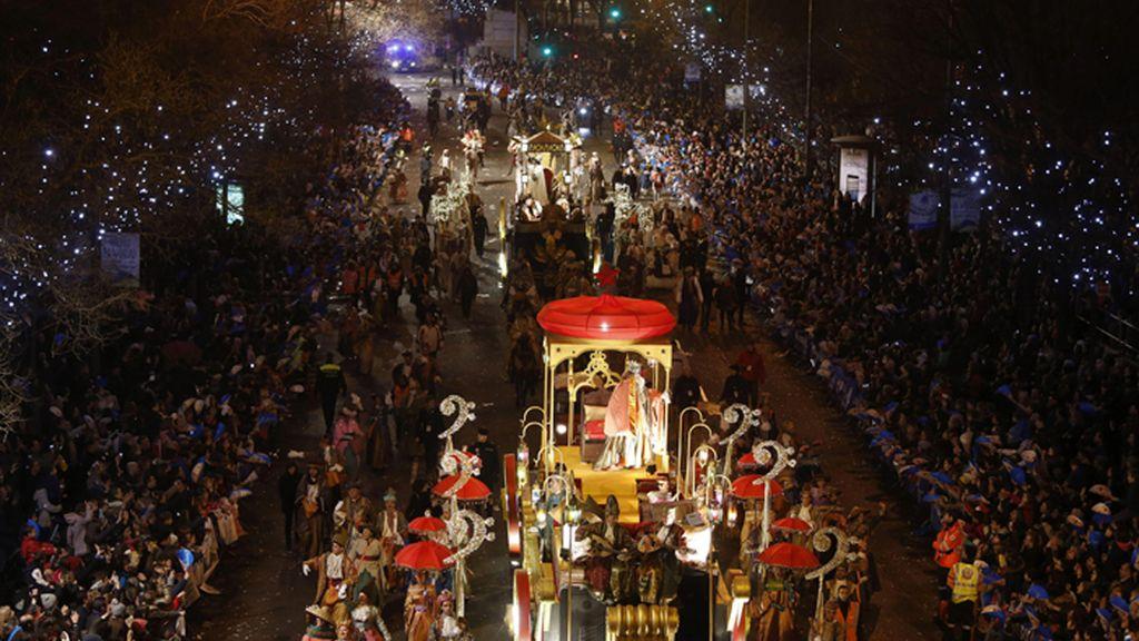 Numerosas cabalgatas recorren las principales ciudades españolas