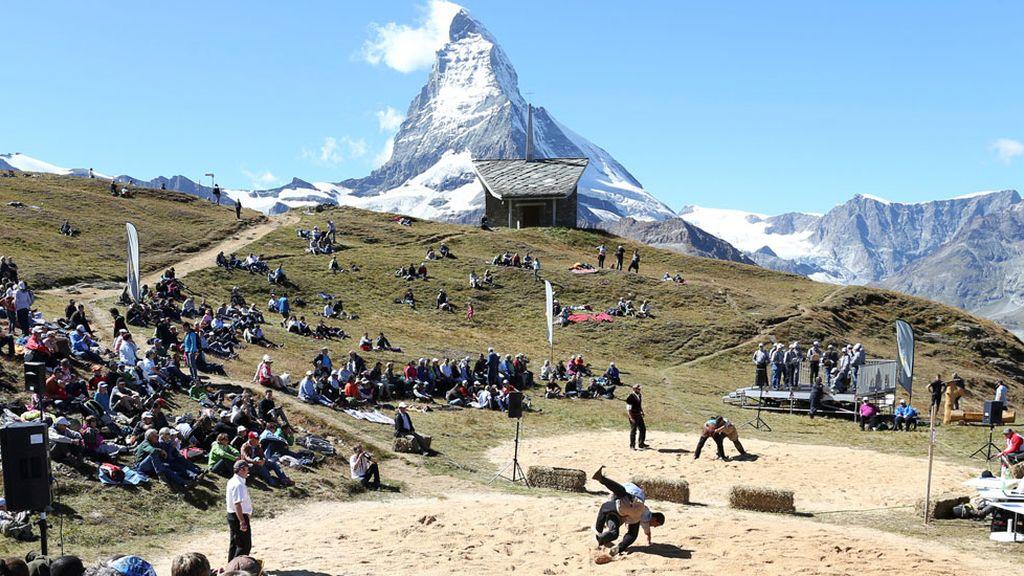 Schwingen, el deporte más antiguo de Suiza (04/05/2016)