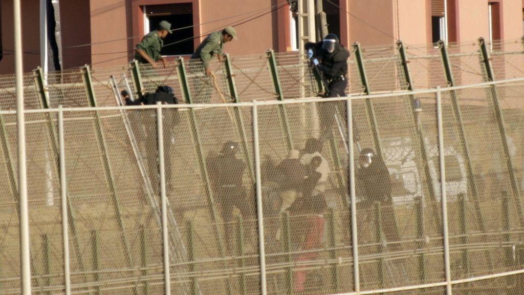 Nuevo salto a la valla de Melilla