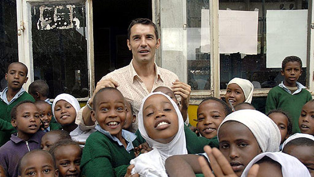 Jesús Vázquez, embajador de ACNUR en Kenia
