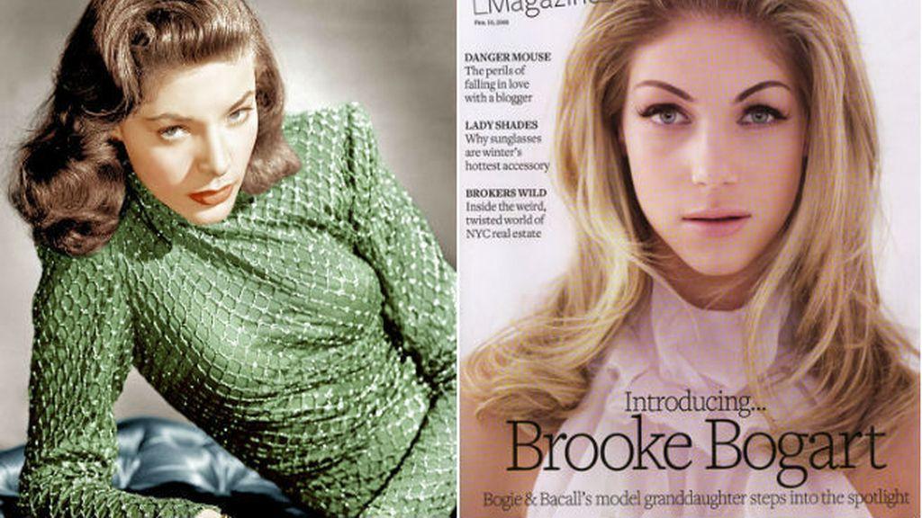 Lauren Bacall nos ha dejado a Brooke Bogart como la gran heredera de su belleza
