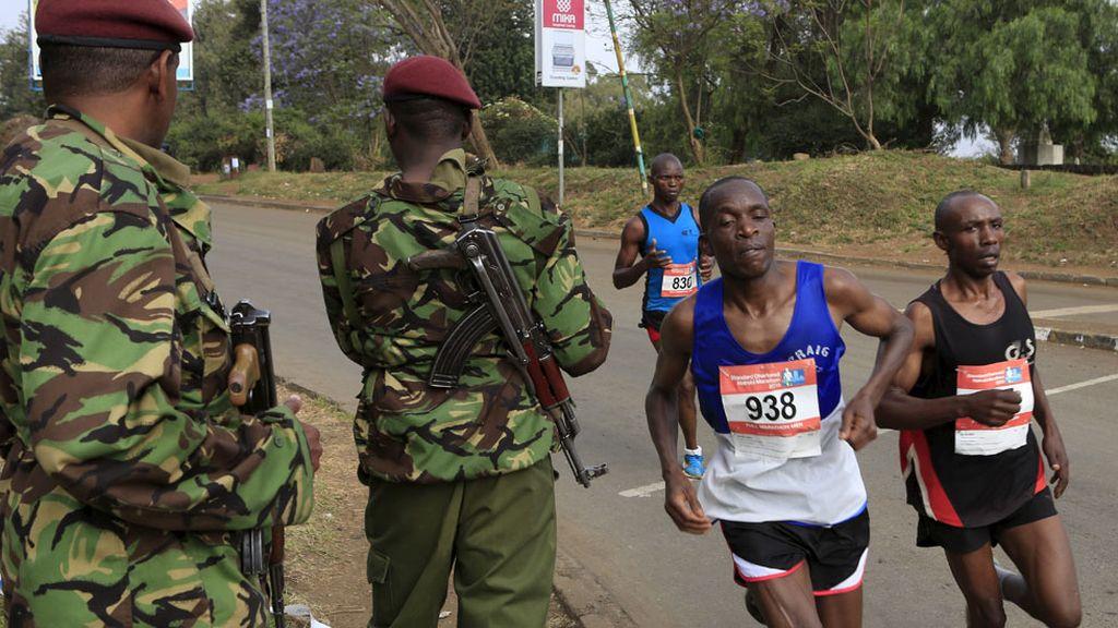 Maratón de Nairobi: Incluso en las peores condiciones... ¡pasión por el deporte! (27/10/2015)